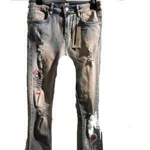 Denim - REVAMPED New w/tags Skinny Jeans
